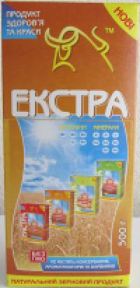 """Пластівці гречані """"Екстра"""" т/у 0.5 кг"""