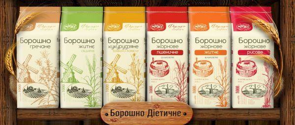 «Formula Zdorovya» TM - buckwheat flour, rye, corn and rice